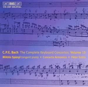 C P E Bach - Complete Keyboard Concertos, Volume 13