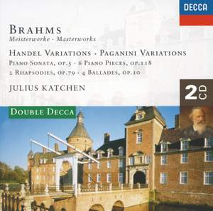 Johannes Brahms - Masterworks Volume 4