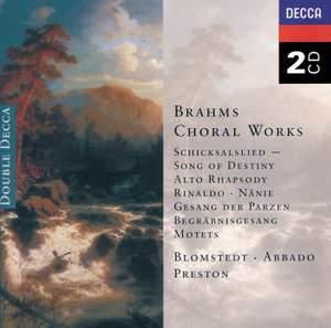 Brahms: Choral Works Product Image