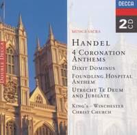 Handel: Four Coronation Anthems & Dixit Dominus