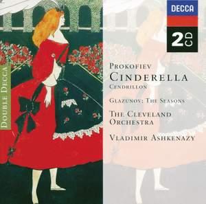 Prokofiev: Cinderella & Glazunov: The Seasons
