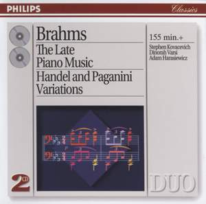 Johannes Brahms - The Late Piano Music