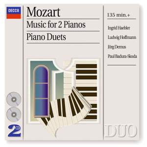 Mozart: Music for 2 Pianos & Piano Duets Product Image