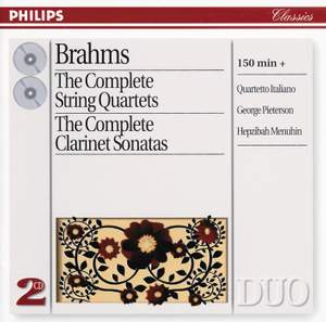 Brahms: Complete String Quartets & Clarinet Sonatas