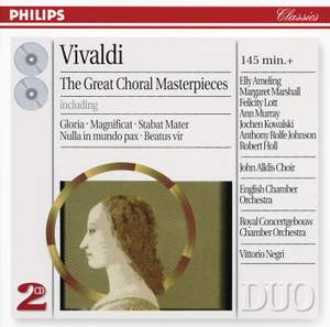 Antonio Vivaldi - Great Choral Masterpieces