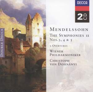 Mendelssohn: The Symphonies Vol. II