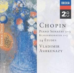 Chopin: Piano Sonatas Nos. 1-3 & 24 Études