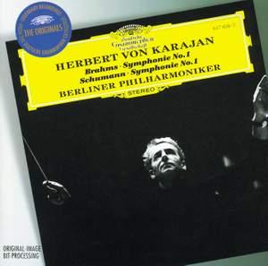 Brahms: Symphony No. 1 & Schumann: No. 1 Product Image