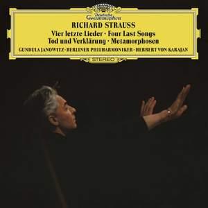 Richard Strauss: Four Last Songs, Metamorphosen and Tod und Verklärung Product Image
