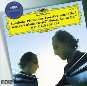 Maurizio Pollini plays Prokofiev, Boulez, Webern and Stravinsky Product Image