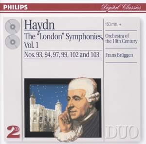 Joseph Haydn - London Symphonies Volume 1