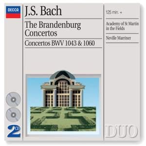 J S Bach: Brandenburg Concertos Nos. 1-6 BWV1046-1051