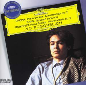 Pogorelich plays Chopin, Ravel and Prokofiev Product Image