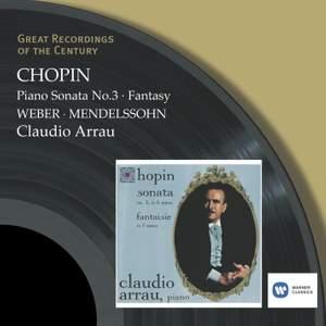 Chopin: Piano Sonata No. 3 in B minor, Op. 58, etc. Product Image