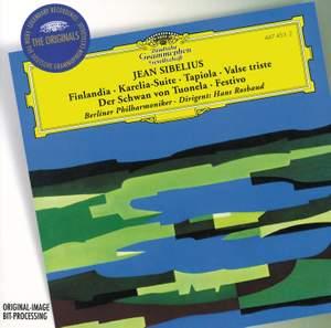 Sibelius: Finlandia, Karelia Suite, Tapiola, Valse triste & other orchestral works Product Image