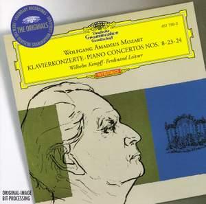 Mozart: Piano Concertos Nos. 8, 23 & 24 Product Image