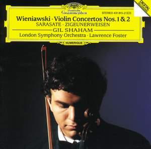Wieniawski: Violin Concertos Nos. 1 & 2 and Sarasate: Zigeunerweisen Product Image