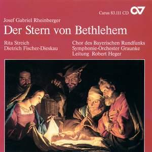 Rheinberger Sacred Music I - Der Stern von Bethlehem Product Image