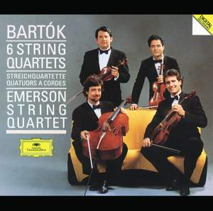 Bartók: String Quartets Nos. 1-6