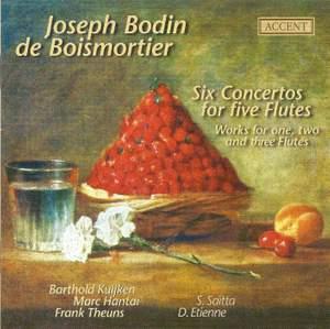 Boismortier - Six Concertos for Five Flutes