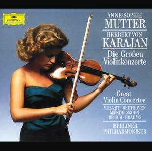 The Great Violin Concertos Product Image