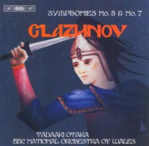 Glazunov - Symphonies Nos. 5 & 7