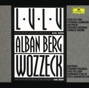 Berg: Wozzeck, etc.