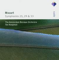 Mozart - Symphonies Nos. 25, 29 & 33
