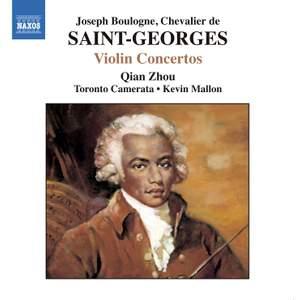 Saint-Georges - Violin Concertos