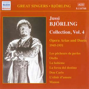 Jussi Björling Collection, Vol. 4