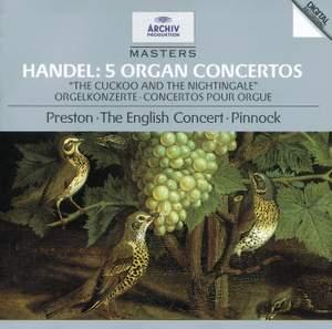 Handel - 5 Organ Concertos
