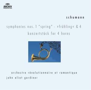 Schumann: Symphony No. 1 in B flat major, Op. 38 'Spring', etc.