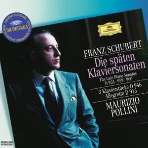 Schubert: The Late Piano Sonatas Product Image
