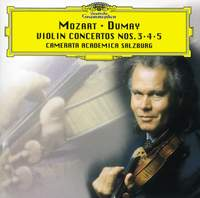 Mozart: Violin Concertos Nos. 3, 4 and 5
