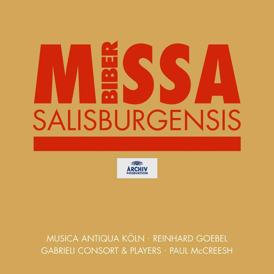 Biber: Missa Salisburgensis - DG Archiv: 4576112 - CD or download | Presto  Classical