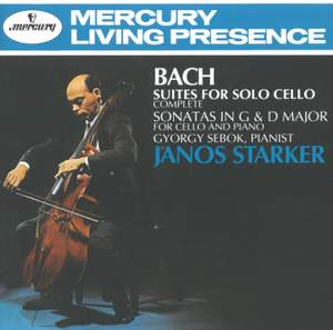 JS Bach: Cello Works