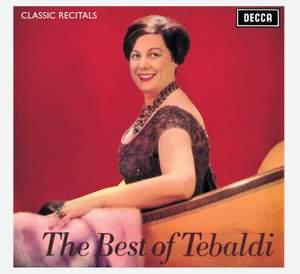 The Best of Tebaldi Product Image