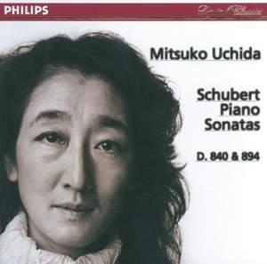 Schubert - Piano Sonatas Nos. 15 & 18