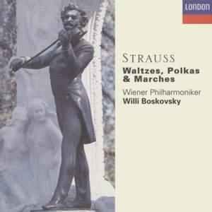 J Strauss: Waltzes, Polkas & Marches