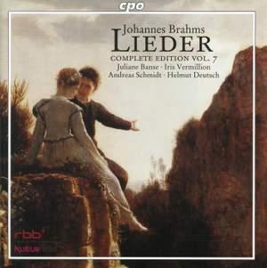 Brahms - Complete Lieder Edition Volume 7