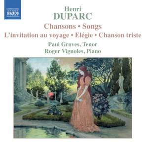 Henri Duparc - Songs Product Image