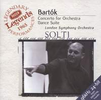Bartók: Concerto for Orchestra & Dance Suite  (recorded 1965)