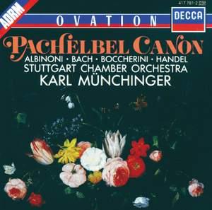 Pachelbel: Canon & Gigue, etc.