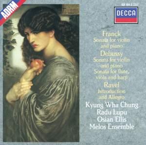Franck, Debussy & Ravel: Violin Sonatas Product Image