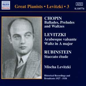 Great Pianists - Levitzki