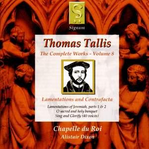 Thomas Tallis - Complete Works Volume 8