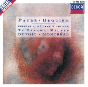 Fauré: Requiem, Op. 48, etc. Product Image