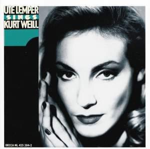 Ute Lemper sings Kurt Weill - Volume 1