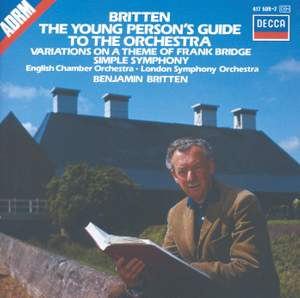 Britten: The Young Person's Guide to the Orchestra & Simple Symphony