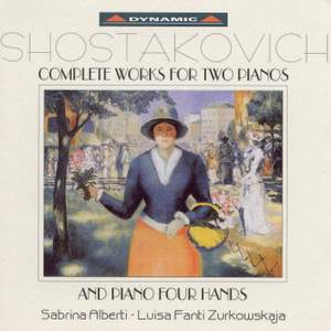 Shostakovich - Complete Works for Two Pianos